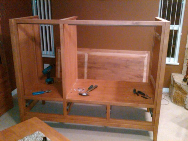 Con un simple mueble viejo puedes construir un bonito for Mueble viejo