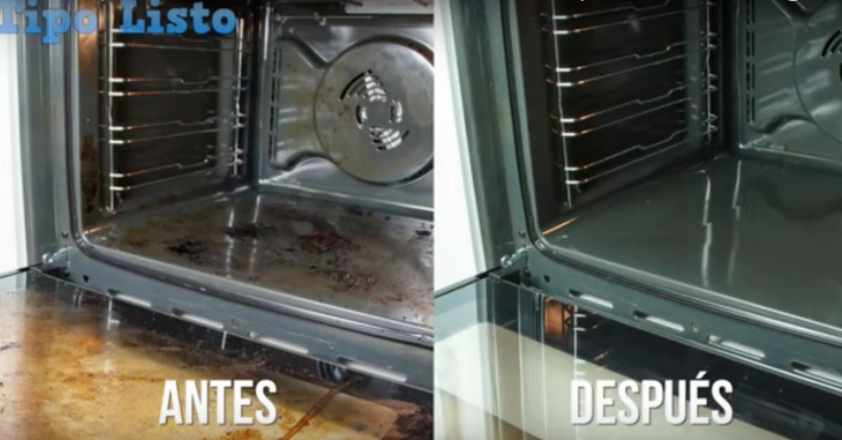 Si odias limpiar el horno este truco te encantar - Limpiar horno bicarbonato vinagre ...