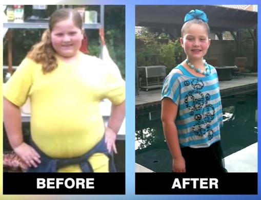 Сбросить вес ребенку 9 лет