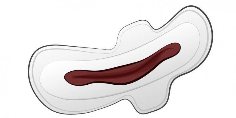 Menstruacion oscura y escasa